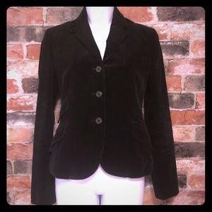 Ralph Lauren Black Corduroy Riding Jacket size 4